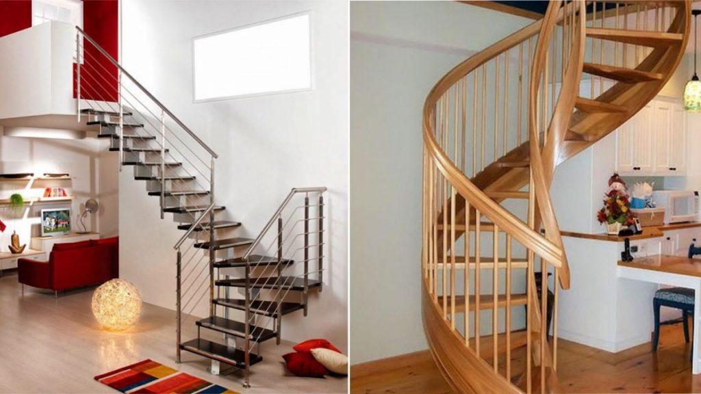 Một số nguyên tắc thiết kế cầu thang cho nhà ống